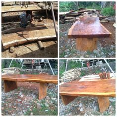 Wooden slab table, wooden dinning table,  rustic table, live edges table.  Measurment; Height; 80cm Length;  300cm Width;  125cm Thickness;  11cm  We have a lot of wooden slab material for your order. For your information about our product and pricelist, contact us via;  FB; Bali Rustic Rental Instagram : bali rustic rental Email : goesbayuputra@yahoo.com Wa : 089655355052 Ph : 081238076101