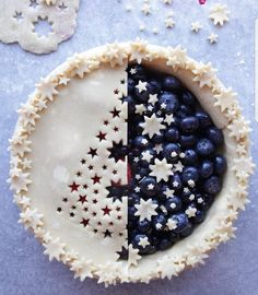 "6,613 Likes, 40 Comments - AmourDuCake (@amourducake) on Instagram: ""Left VS Right??? Image mirror of a christmas tree pie  by @toplessbaker Good idea for the…"""