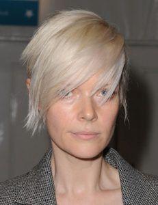 Bonitos modelos de peinados con cerquillo para cara alargada - Belleza