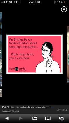 You a care bear
