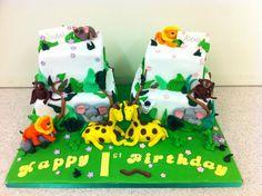 Children's 1st birthday cake