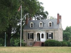 In 1836, Holden Rhodes (1799-1857), noted jurist and early president of the Richmond and Petersburg Railroad Company, purchased this property, named it Boscobel, and built what is today known as the Stone House now in Forest Hill Park near Richmond.