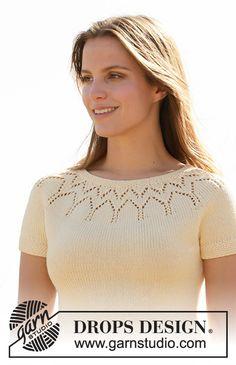 Knitting Designs, Knitting Patterns Free, Knit Patterns, Free Knitting, Halo, Drops Design, Crochet Diagram, Crochet Pattern, Magazine Drops