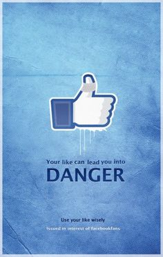 The purpose of this public awareness campaign is to make us more responsible with our actions on all the social networks, especially on Facebook. We all know that many riots and protests begun on Twitter or on Facebook, so when we want to post something related to a political, religious or social issue, we must be ca