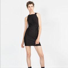 Zara Jacquard dress NWT Never worn. Stretch to it. Zara Dresses