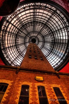 """""""Coops Shot Tower"""" under the cone shaped dome of the Melbourne Central building, Melbourne Visit Australia, Australia Living, Melbourne Australia, Melbourne Central, Melbourne House, Central Building, Old Building, Melbourne Victoria, Victoria Australia"""