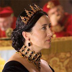 "Catherine of Aragon - ""I take God as my judge. The White Princess, Princess Mary, Katharina Von Aragon, Tudor Series, Tv Series, Los Tudor, The Tudors Tv Show, Isabel I, Sarah Bolger"