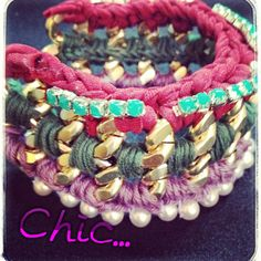 Stucking bracelets