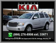 2009 Chrysler Aspen Limited SUV  3Rd Row Hip Room: 48.0, Stability Control With Anti-Roll Control, Front Leg Room: 41.4,