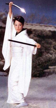 Lucy Liu as O-Ren Ishii alias Cottonmouth in Kill Bill