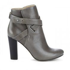 Kaila block heel bootie - Ash