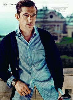 Werner Schreyer Visits the French Riviera in GQ Frances July 2012 Issue