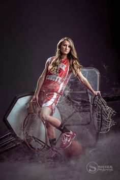 Senior Girl Sporty | Shirk Photography | Iowa Portrait Art