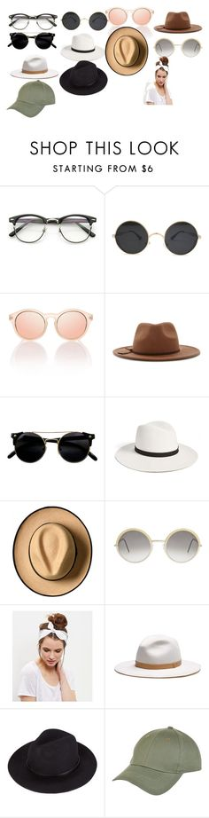 """""""v"""" by ulu-ulu-ulu on Polyvore featuring мода, Forever 21, Janessa Leone, Cutler and Gross, New Look и rag & bone"""