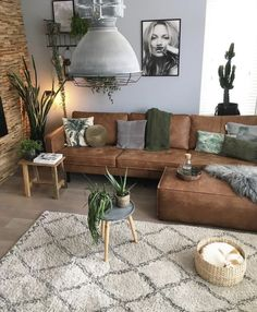 Newest Living Room Design Ideas That Looks Cool - Fortyideas Boho Living Room, Cozy Living Rooms, Living Room Grey, Living Room Decor, Earthy Living Room, Grey Room, Room Furniture Design, Living Room Furniture, Furniture Ideas