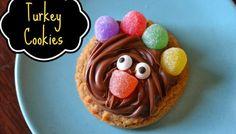 Turkey Cookies {DIY Craft}