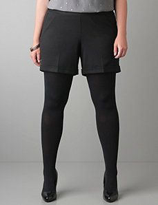 Ponte knit short by Lane Bryant - I NEED THESE!!!