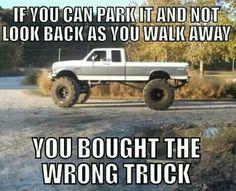Wrong truck