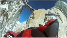 First Ever Wingsuit Flight Under The Aiguille Du Midi