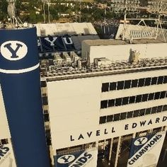 Who else is excited about the return of college football?! Good luck to BYU at Nebraska today! Check out our video of LaVell Edwards Stadium on our YouTube channel.