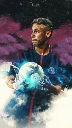 Descargar fondos de pantalla Neymar Jr, 4k, el PSG, el fútbol, el fútbol de las estrellas, la Ligue 1, la sonrisa, el París Saint-Germain, futbolistas, Neymar #futbolneymar