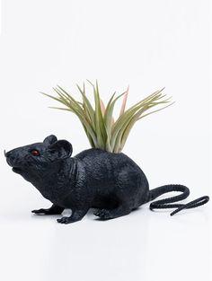 Rat - Hit op Etsy: beestachtige bloempotten | ELLE Decoration NL