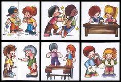 """Fonte:http://www.rioeduca.net/   Os """"combinados"""" são estabelecidos na primeira semana de aula através de conversa entre professor e alunos ..."""