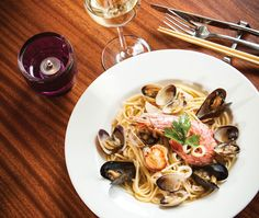 Let this list of classic and contemporary Italian spots be your guide to good eating. Calgary Restaurants, Italian Restaurants, Great Restaurants, Restaurant Recipes, Spaghetti, Contemporary, Classic, Ethnic Recipes, Food