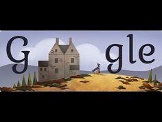 Charlotte Brontë Google Doodle
