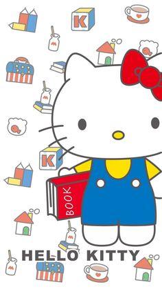Iphone Wallpaper Inside, Hello Kitty Iphone Wallpaper, Sanrio Wallpaper, Kawaii Wallpaper, Hello Kitty Drawing, Hello Kitty Christmas, Hello Kitty Pictures, Hello Kitty Collection, Little Twin Stars