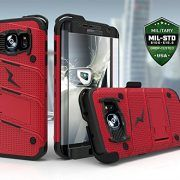 Samsung Galaxy Edge Case Zizo Bolt Series Kickstand Military Grade Inx Black/red for sale online Samsung Cases, Iphone Cases, Everyday Carry Gear, Edc Gear, Galaxy S7, Samsung Galaxy, S7 Edge, Tactical Gear, Screen Protector