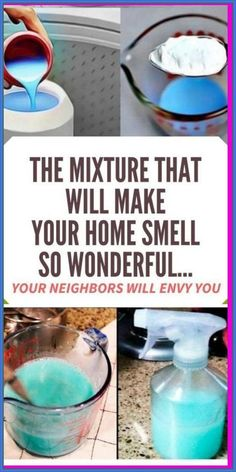 This Mixture That Will Make Your Home Smell So Wonderful� Your Neighbors Will Envy You Diy Cleaners, Cleaners Homemade, Household Cleaners, House Cleaners, Diy Cleaning Products, Cleaning Hacks, Cleaning Solutions, Cleaning Checklist, Cleaning Recipes
