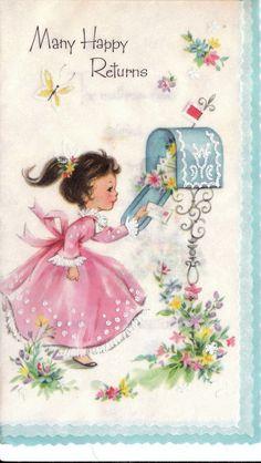 Parchment Birthday Card
