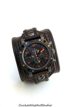 leather wrist watch - Google Search