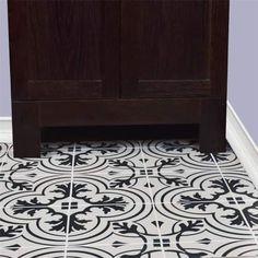SomerTile 7.75x7.75-inch Thirties Vintage Ceramic Floor and Wall Tile (25 tiles/11 sqft.)