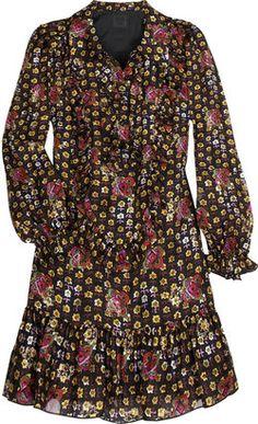 ShopStyle: Anna Sui Jacquard tunic top