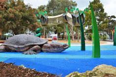 https://flic.kr/p/P4Qd56   Bibra Lake Regional Playground   The 7,000m2 fenced park is designed to cater for people of all ages and abilities.  There are toilet facilities, shaded BBQ areas as well as  barbecues that have wheelchair recesses to make cooking easy.  #PlayRightAustralia #Kompan #Corocord #playgrounds
