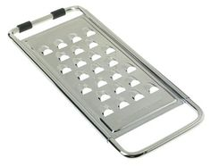 Cuisipro 11.5-Inch Extra Coarse Grater - I've got one of these, and it's great for cheese.  You don't have to sit there endlessly grating cheese into superfine pieces when you're just going to melt it anyway.