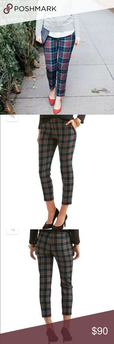 Plaid Pants Bought these on VV final sale and they turned out not to fit me! 😫 super cute! Never been worn except to just try them on! Vineyard Vines Pants