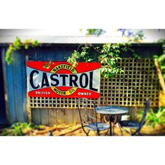 New spot for the Castrol sign on the exterior of the Mancave now I just need to paint the shed put down a deck and some shade cloth. #vintagesign #castrolwakefield #castrolsign #mancave #cliftonsprings #liveinvictoria #livelovegeelong #thebellarinepeninsula #instagood #instafollow #instagrammers #all_shots #allshots by willjvall58 http://ift.tt/1JO3Y6G