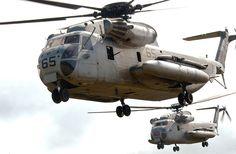 * Helicópteros CH-53 Sea Stallion *