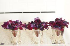 Purple theme florals...