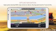 Sygic Truck GPS Navigation  Android App - playslack.com ,  GPS TRUCK NAVIGATION BY SYGIC, MAKER OF THE WORLD'S MOST INSTALLED OFFLINE GPS NAVIGATION APP- GPS Navigation for truck drivers with truck restrictions in the map- Special routing for RV/Caravan/Camper and Bus drivers- Maps stored on device, internet connection is not required, works with GPS signal- Try 14 days for free, full license available for 129 EUR Europe, 139 USD North America, 179 AUD Australia & New Zealand, 99 EUR…