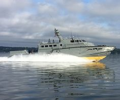 Navy Accepts Delivery of First MK VI Patrol Boat WASHINGTON (Aug. 27, 2014) - The Navy accepted delivery of the first MK VI patrol boat on Aug. 27. The craft is the first of 10 patrol boats currently under contract with Safe Boats International in Tacoma, Wash. The patrol boats will be operated and maintained by the Navy Expeditionary Combat Command (NECC), supporting coastal riverine forces.