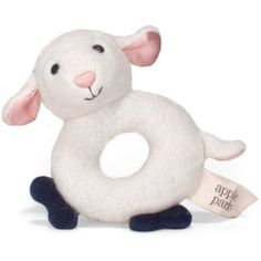Apple Park Teething Rattle, Lamby *** Want additional info? Click on the image. (This is an affiliate link) #BabyToddlerToys