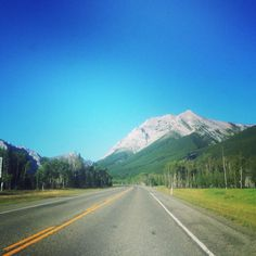 banff was beautiful....and even the way there