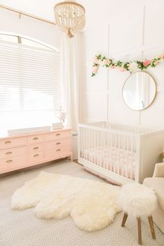 Pink and White Nursery | Shop. Rent. Consign. Gently used designer maternity brands you love at up to 90% off retail! MotherhoodCloset.com Maternity Consignment online superstore.