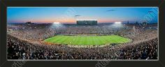 One small Notre Dame stadium panoramic, framed to 27 x 9.5 inches.  $69.99 @ ArtandMore.com