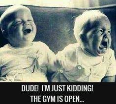 Workout humor