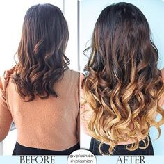 Ombre Hairstyles! I want this beautiful ombre hair extension! #ombre hair extensions